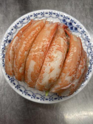 コッペ蟹のオードブル (数量限定メニュー)